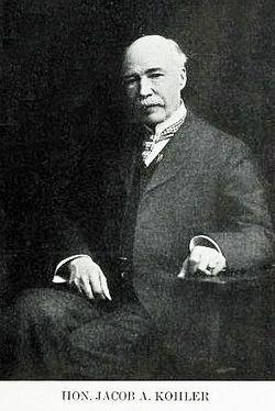 Judge Jacob Adams Kohler