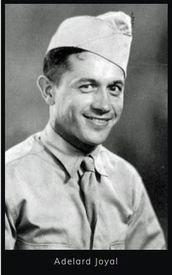 Pvt Adelard Joyal