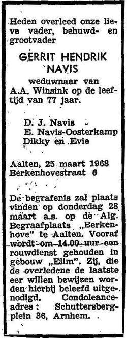 Gerrit Hendrik Navis