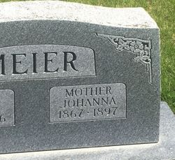 Johanna Cecelia <I>Hesse</I> Meier