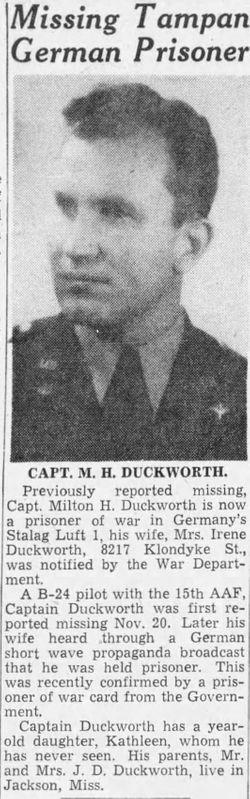 Milton Hunter Duckworth