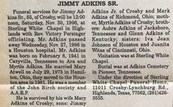 Jimmy William Adkins Sr.