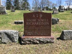 Naomi <I>Sewell</I> Richardson