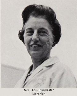 Mrs Lois <I>Campbell</I> Burmester