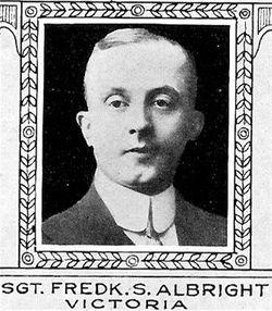 Private Frederick Stanley Albright