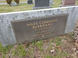 "Niles Germaine ""Burky"" Burkhard"