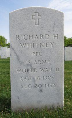 Richard H Whitney