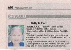 Betty G. Pinto