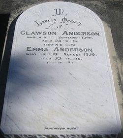 Emma <I>Holland</I> Anderson