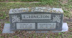 Henrietta P Ethington