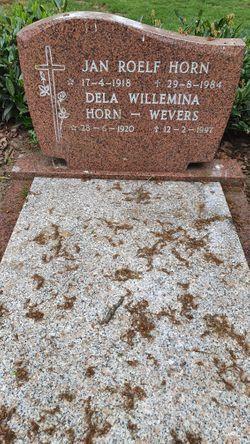 Dela Willemina <I>Wevers</I> Horn