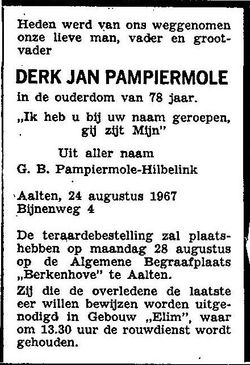 Derk Jan Pampiermole