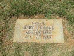 """Mary Emanuel """"Mannie"""" <I>Ingram</I> Hooks"""