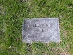 Frederick W Barrett