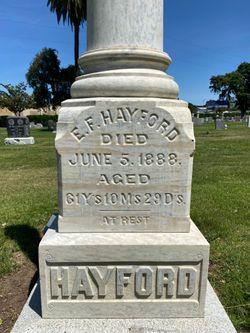 Edward F Hayford