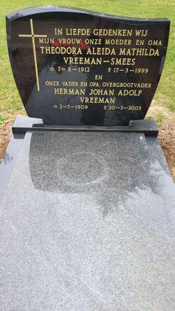 Theodora Aleida Mathilda <I>Smees</I> Vreeman
