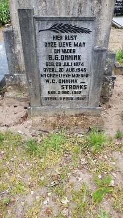 Willemina Catharina <I>Stronks</I> Onnink