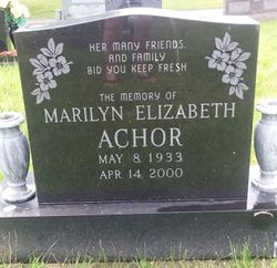 Marilyn Elizabeth Achor