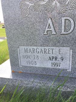 Margaret E. <I>Blakely</I> Adams