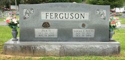 Sarah Frances <I>Potts</I> Ferguson