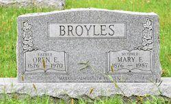 Mary Florence <I>Smith</I> Broyles