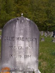 "Alice Mae ""Allie"" <I>Churchill</I> Helson"