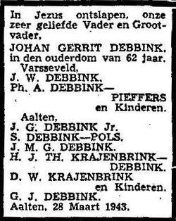 Johan Gerrit Debbink