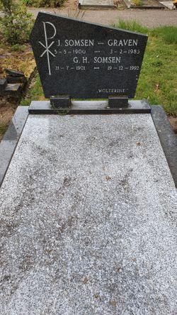 Johanna <I>Graven</I> Somsen
