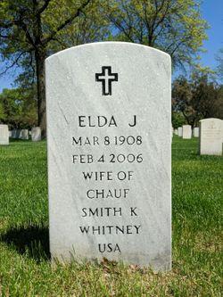 Elda Julia <I>Adkins</I> Whitney