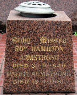 Roy Hamilton Armstrong