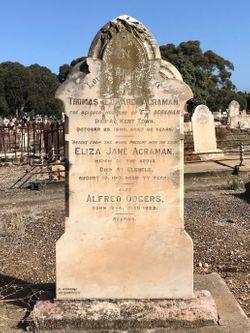Eliza Jane <I>Odgers</I> Acraman