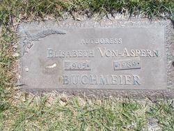 Elisabeth <I>Von-Aspern</I> Buchmeier