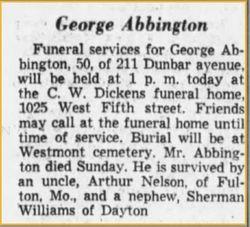 George Abbington