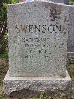 Katherine Lillian <I>Lydon</I> Swenson