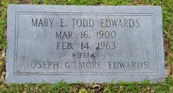 """Mary Eugenia """"Jenny"""" <I>Todd</I> Edwards"""