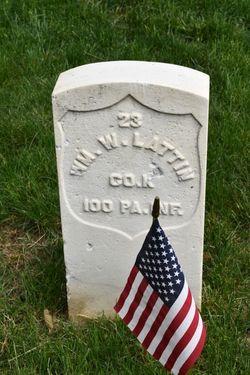 Pvt William W. Lattin