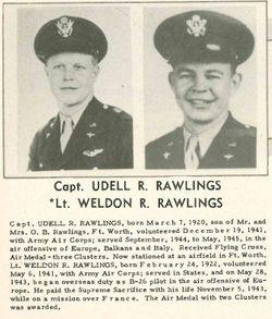2LT Weldon R Rawlings