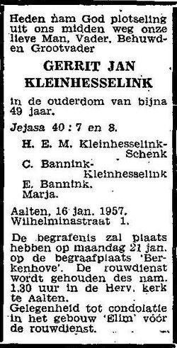 Gerrit Jan Kleinhesselink