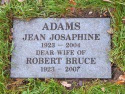 Jean Josephine <I>Smith</I> Adams
