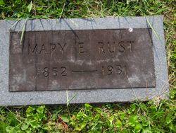 Mary Elizabeth <I>Shank</I> Rust