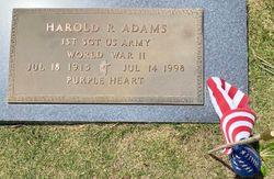 Harold R Adams