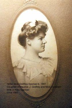 Nellie Viola <I>Godfrey</I> Spencer