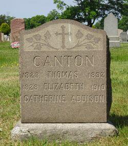 Catherine <I>Canton</I> Addison