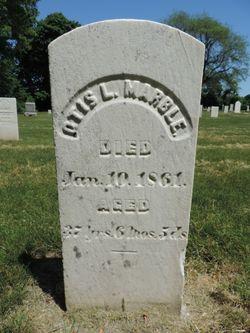 Otis L Marble