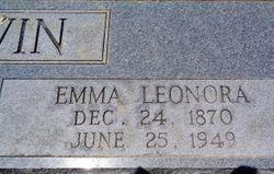 Emma Leonora <I>Bennett</I> Erwin