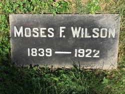 Moses F Wilson