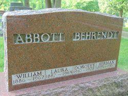 Laura <I>Behrendt</I> Abbott