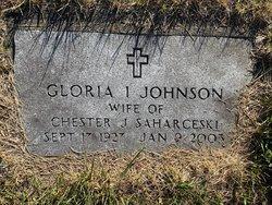 Gloria Isobel <I>Johnson</I> Saharceski