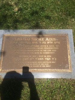 Miriam Shore Agus