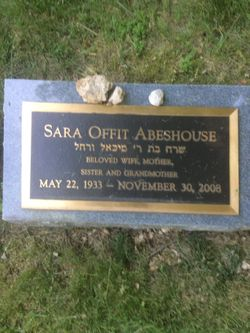 Sara <I>Offit</I> Abehouse